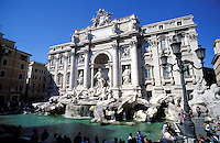 Italy,Rome, The Trevi Fountai