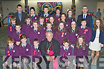 Pupils from Gaelscoil Faithleann, Killarney who were confirmed by Bishop Bill Murphy in the church of the Ressurection, Killarney on Friday....