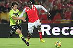 Independiente Santa Fe empato con Atlettico Nacioanl 2x2 en la liga postobon torneo apertura del futbol de colombia..<br /> <br /> Cristian Borja