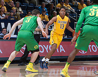 Berkeley, CA - February 22nd, 2017:  CAL Men's Basketball's 65-68 loss to Oregon Ducks at Haas Pavilion.