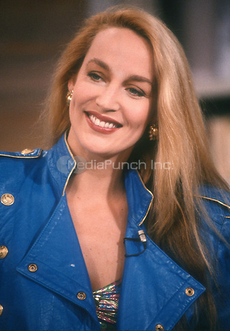 Jerry Hall 1983<br /> Photo By Adam Scull/PHOTOlink.net / MediaPunch