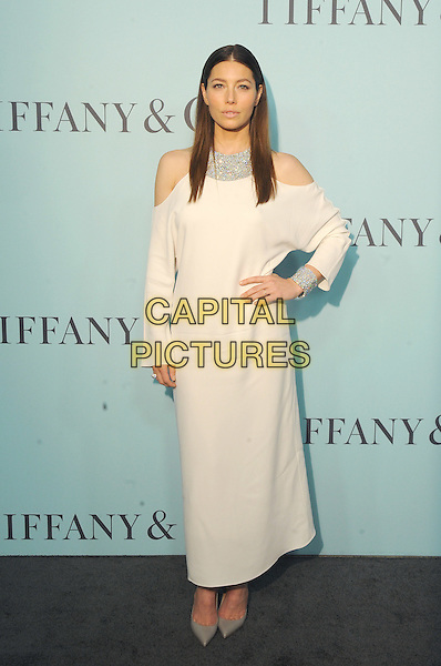New York, New York- April 15: Jessica Biel attends the Tiffany &amp; Co 2016 Blue Book event at the Cunard Building on April 15, 2016 in New York City.  <br /> CAP/MPI/STV<br /> &copy;STV/MPI/Capital Pictures