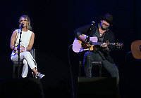 13 April 2018 - Las Vegas, Nevada - Nicolle Galyon, Lee Brice.  ACM Party For A Cause ACM Stories, Songs &amp; Stars at The Joint inside The Hard Rock Hotel and Casino.   <br /> CAP/ADM/MJT<br /> &copy; MJT/ADM/Capital Pictures