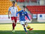 St Johnstone v Stranraer...01.11.15   Little Big Shot Youth Cup 3rd Round, McDiarmid Park, Perth<br /> Paul Simpson and Calvin Kemp<br /> Picture by Graeme Hart.<br /> Copyright Perthshire Picture Agency<br /> Tel: 01738 623350  Mobile: 07990 594431