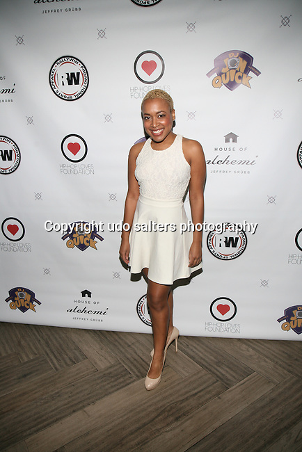 Singer Lea Anderson Attends DJ Jon Quick's 5th Annual Beauty and the Beat: Heroines of Excellence Awards Honoring AMBRE ANDERSON, DR. MEENA SINGH,<br />