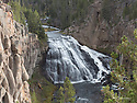 October 8 thru October 21, 2017 / Cross country Trip to Yellowstone National Park in Yellowstone, Wyoming. / Shown is Gibbon Falls on the Gibbon River inside Yellowstone National Park  /   Stops in Laramie, Jackson, Yellowstone with travels thru Pennsylvania, Ohio, Indiana, South Dakota, Wyoming, Montana, North Dakota, Missouri, Minnosota, and Illanois.