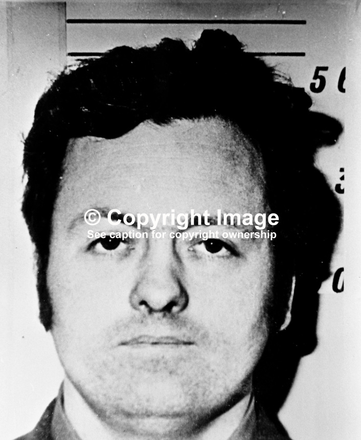 Alleged Provisional IRA leader Sean Convery captured by the Army in Belfast, in 1974..Copyright Image from Victor Patterson, 54 Dorchester Park, Belfast, UK, BT9 6RJ..Tel: +44 28 9066 1296.Mob: +44 7802 353836.Voicemail +44 20 8816 7153.Skype: victorpattersonbelfast.Email: victorpatterson@mac.com.Email: victorpatterson@ireland.com (back-up)..IMPORTANT: If you wish to use this image or any other of my images please go to www.victorpatterson.com and click on the Terms & Conditions. Then contact me by email or phone with the reference number(s) of the image(s) concerned.