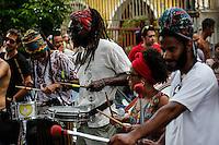 BELO HORIZONTE,MG, 24.01.2016 – CARNAVAL-MG - Foliões durante o pré-Carnaval no bairro Santa Tereza, na região leste de Belo Horizonte, neste domingo, 24. (Foto: Doug Patrício/Brazil Photo Press)