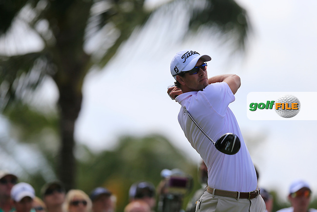 Adam Scott (AUS) during round 2 at the WGC Cadillac Championship, Blue Monster, Trump National Doral, Miami, Florida,USA.<br /> Picture: Fran Caffrey www.golffile.ie