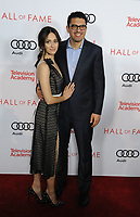 www.acepixs.com<br /> <br /> November 15 2017, LA<br /> <br /> Actress Emmy Rossum (L) and actor Sam Esmail arriving at the Television Academy's 24th Hall of Fame Ceremony at the Saban Media Center on November 15, 2017 in Los Angeles, California.<br /> <br /> By Line: Peter West/ACE Pictures<br /> <br /> <br /> ACE Pictures Inc<br /> Tel: 6467670430<br /> Email: info@acepixs.com<br /> www.acepixs.com