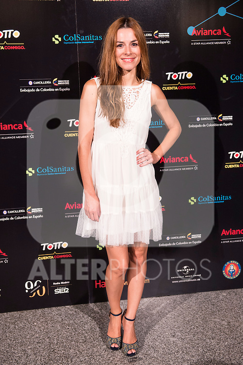 Begoña Maestre attends the photocall before the concert of colombian singer Juanes in Royal Theater in Madrid, Spain. July 23, 2015.<br />  (ALTERPHOTOS/BorjaB.Hojas)