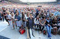 Pictured: Fans inside the stadium Saturday 18 June 2016<br /> Re: Lionel Richie, All The Hits concert at the Liberty Stadium, Swansea, Wales, UK