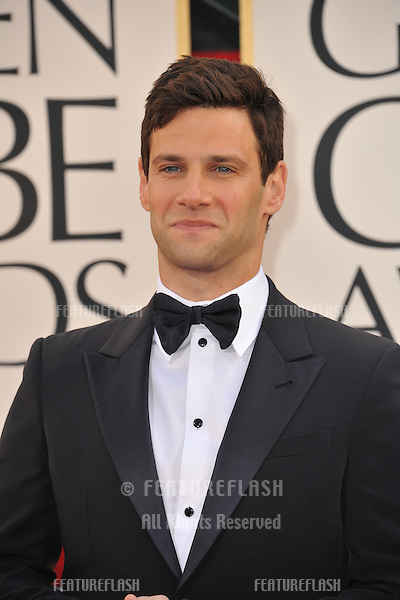 Justin Bartha  at the 70th Golden Globe Awards at the Beverly Hilton Hotel..January 13, 2013  Beverly Hills, CA.Picture: Paul Smith / Featureflash