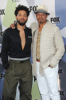 NEW YORK, NY - MAY 14: Jussie Smollett and Terrence Howard at the 2018 Fox Network Upfront at Wollman Rink, Central Park on May 14, 2018 in New York City.  <br /> CAP/MPI/PAL<br /> &copy;PAL/MPI/Capital Pictures