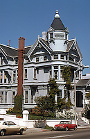 San Francisco: Haas-Lilienthal House, 2007 Franklin.  Stick-Eastlake 1886.  Photo '78.