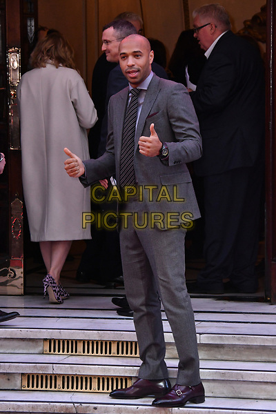 LONDON, ENGLAND - MARCH 15: Thierry Henry at the Prince's Trust and Samsung Celebrate Success Awards 2017, The London Palladium, Argyll Street, London, England, UK, on Wednesday 15 March 2017.<br /> CAP/JOR<br /> &copy;JOR/Capital Pictures