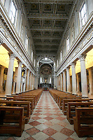 L'interno del Duomo di Mantova.<br /> Interior view of the Cathedral of Mantua.<br /> UPDATE IMAGES PRESS/Riccardo De Luca