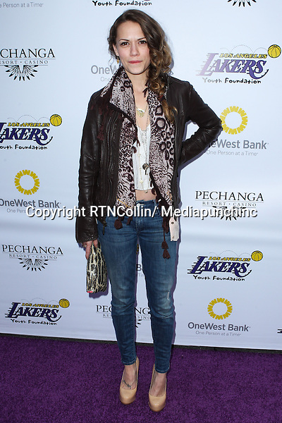 Bethany Joy Lenz  at Lakers Casino Night Fundraiser Benefiting The Lakers Youth Foundation held at Club Nokia on March 10, 2013 in Los Angeles, California. RTNCollin/ Mediapunchinc