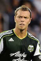 Jack Jewsbury (13) midfielder Portland Timbers... Sporting Kansas City defeated Portland Timbers 3-1 at LIVESTRONG Sporting Park, Kansas City, Kansas.