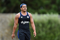Ben Tapuai of Bath Rugby looks on. Bath Rugby pre-season S&C session on June 22, 2017 at Farleigh House in Bath, England. Photo by: Patrick Khachfe / Onside Images