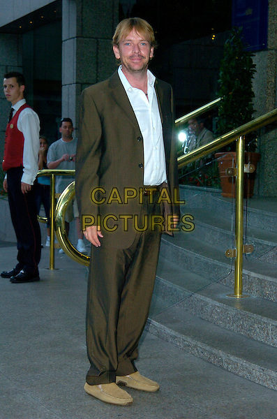 ADAM WOODYATT.Attending Barbara Windsor's 70th Birthday Party, .Royal Garden Hotel, London, England, August 5th 2007..full  length beard green khaki suit white shirt.CAP/CAN.©Can Nguyen/Capital Pictures