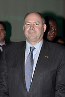 Montreal (QC) CANADA, November 5, 2007 - <br /> Yvon Bolduc, President and CEO, Fond de Solidarite FTQ. listen to<br /> <br /> Dr. Eric Dupont, Co-founder of AEterna Zentaris and Atrium Innovations, at the Canadian Club of Montreal's podium<br /> talk about <br />     The AEterna Atrium Model,Monday, November 5, 2007<br />     at the<br />     Club Saint James of Montreal,<br />     1145, Union Avenue, Montr&Egrave;al.<br /> <br /> photo : (c) &reg;Pierre Roussel -  images Distribution