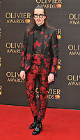 Joshua Kane at the Olivier Awards 2018, Royal Albert Hall, Kensington Gore, London, England, UK, on Sunday 08 April 2018.<br /> CAP/CAN<br /> &copy;CAN/Capital Pictures<br /> CAP/CAN<br /> &copy;CAN/Capital Pictures