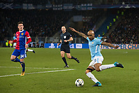 Manchester City's Fabian Delph in action <br /> <br /> Photographer Craig Mercer/CameraSport<br /> <br /> UEFA Champions League Round of 16 First Leg - Basel v Manchester City - Tuesday 13th February 2018 - St Jakob-Park - Basel<br />  <br /> World Copyright &copy; 2018 CameraSport. All rights reserved. 43 Linden Ave. Countesthorpe. Leicester. England. LE8 5PG - Tel: +44 (0) 116 277 4147 - admin@camerasport.com - www.camerasport.com
