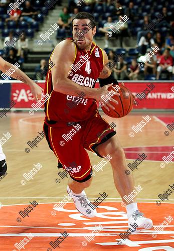 2009-07-30 / Basketbal / Belgian Lions / Roel Moors..Foto: Maarten Straetemans (SMB)