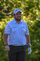 Shane Lowry (IRL) watches his tee shot on 2 during Round 2 of the Zurich Classic of New Orl, TPC Louisiana, Avondale, Louisiana, USA. 4/27/2018.<br /> Picture: Golffile | Ken Murray<br /> <br /> <br /> All photo usage must carry mandatory copyright credit (&copy; Golffile | Ken Murray)