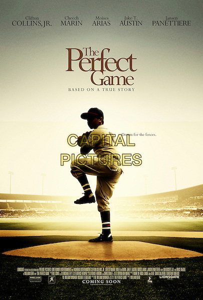 POSTER ART.in The Perfect Game.*Filmstill - Editorial Use Only*.CAP/FB.Supplied by Capital Pictures.