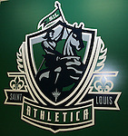 16 January 2009: Saint Louis Athletica logo. The 2009 inaugural Womens Pro Soccer (WPS) Draft was held at the Convention Center in St. Louis, Missouri in conjuction with the National Soccer Coaches Association of America's annual convention.