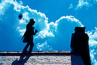 Chimney sweep in Stowe Vermont