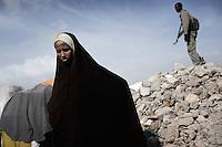 Mogadishu/Somalia 2012 - Badbadoo, the largest IDP camp in the capital.