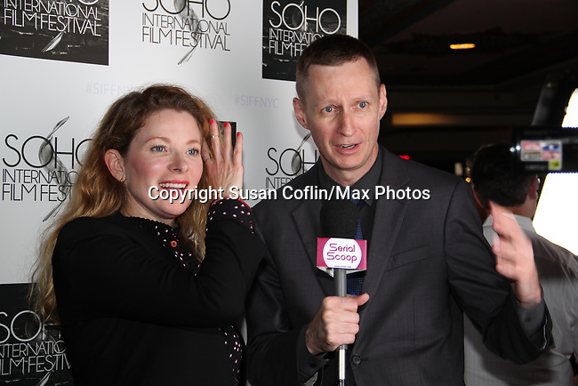 -  Seeing is Believing: Women Direct at its East Coast Premiere at Soho International Film Festival on June 19, 2017 in New York City, New York.(Photos by Sue Coflin/Max Photos) Cady McClain, Roger Newcomb