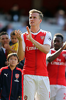 Nacho Monreal of Arsenal after Arsenal vs Everton, Premier League Football at the Emirates Stadium on 21st May 2017