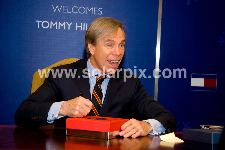 **ALL ROUND PICTURES FROM SOLARPIX.COM**.**SYNDICATION RIGHTS FOR UK, SPAIN, PORTUGAL, AUSTRALIA, S.AFRICA & DUBAI (U.A.E) ONLY**.Tommy Hilfiger Personal Appearance and Shopping Party At Macy's Chicago, State Street Chicago, Chicago, IL, USA. 8th November 2008..This pic: Tommy Hilfiger..JOB REF: 7829 PHZ (Bielawski)   DATE: 08_11_2008 .**MUST CREDIT SOLARPIX.COM OR DOUBLE FEE WILL BE CHARGED* *UNDER NO CIRCUMSTANCES IS THIS IMAGE TO BE REPRODUCED FOR ANY ONLINE EDITION WITHOUT PRIOR PERMISSION*
