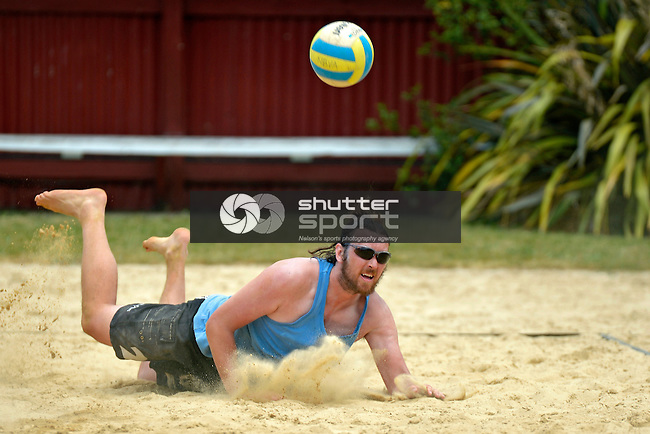 Challenger Beach Volleyball Brightwater, 8 December 2012, Nelson, New Zealand<br /> Photo: Barry Whitnall/shuttersport.co.nz