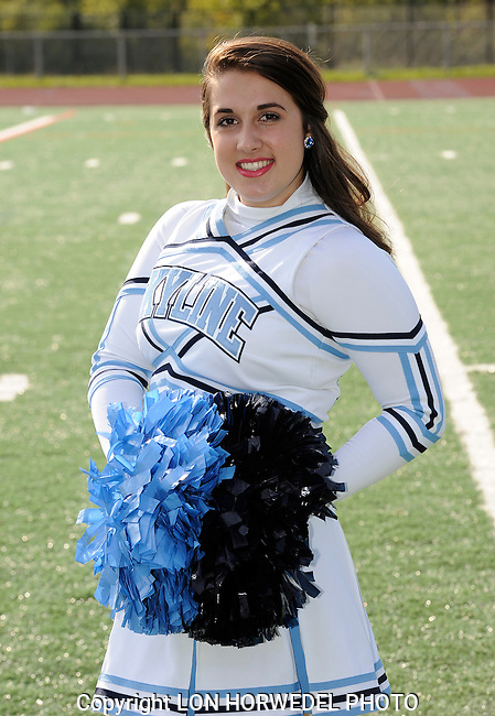 Skyline High School pompon. 2014