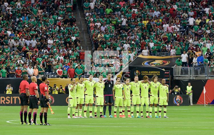 Houston, TX - Monday June 13, 2016: Venezuela  during a Copa America Centenario Group C match between Mexico (MEX) and Venezuela (VEN) at NRG Stadium.