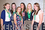 Enjoying the Muckross Rowing Club Bar-B-Q held in the Killarney Oaks hotel on Friday night were Aoife Cooper, Roisin Rea, Shona O'Sullivan, Caoimhe Doyle, Katherine Cremin and Alison Shaw...