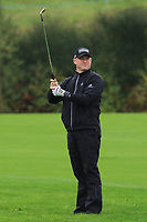 Jamie Donaldson (WAL) on the 1st fairway during Round 4 of the Amundi Open de France 2019 at Le Golf National, Versailles, France 20/10/2019.<br /> Picture Thos Caffrey / Golffile.ie<br /> <br /> All photo usage must carry mandatory copyright credit (© Golffile | Thos Caffrey)