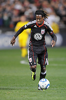 DC United forward Joseph Ngwenya (11)     DC United defeated The Columbus Crew 3-1  at the home season opener, at RFK Stadium, Saturday March 19, 2011.