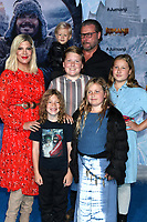 """LOS ANGELES - DEC 9:  Tori Spelling, Dean McDermott, children at the """"Jumanji:  The Next Level"""" Premiere at TCL Chinese Theater IMAX on December 9, 2019 in Los Angeles, CA"""