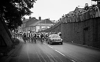 following the pacecar to the official start<br /> <br /> Tour of Britain<br /> stage 2: Carlisle to Kendal (187km)