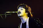 Wings 1976 Paul McCartney at Wembley<br /> &copy; Chris Walter