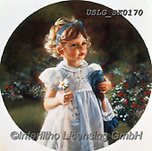CHILDREN, KINDER, NIÑOS, paintings+++++,USLGSK0170,#K#, EVERYDAY ,Sandra Kock, victorian