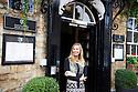 Kit Kemp , Interior Designer at The Blenheim Palace Literary  Festival  at Woodsock, Oxfordshire 2013 . CREDIT Geraint Lewis