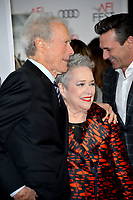 "LOS ANGELES, USA. November 21, 2019: Clint Eastwood & Kathy Bates at the world premiere for ""Richard Jewell"" as part of the AFI Fest 2019 at the TCL Chinese Theatre.<br /> Picture: Paul Smith/Featureflash"