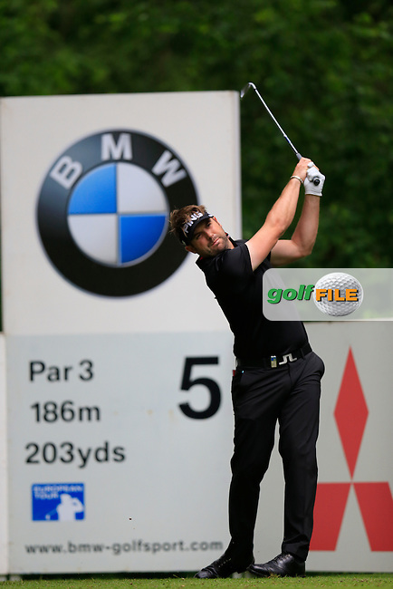 Matthew BALDWIN (ENG) during round one of the BMW PGA championship, Wentworth Golf Club, Virginia Waters, London.<br /> Picture: Fran Caffrey www.golffile.ie
